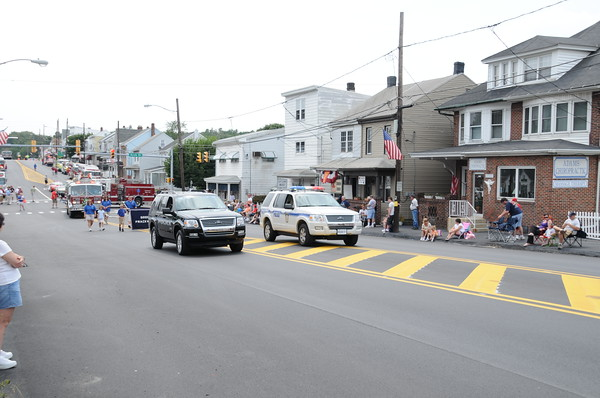 The Parade from Lehigh Avenue
